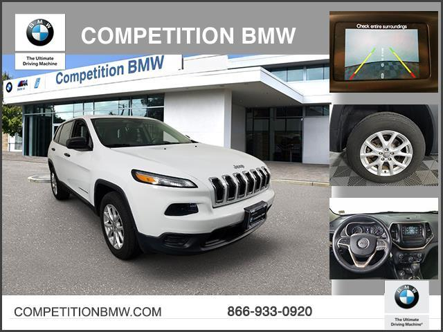 Pre-Owned 2014 Jeep Cherokee 4WD 4dr Sport