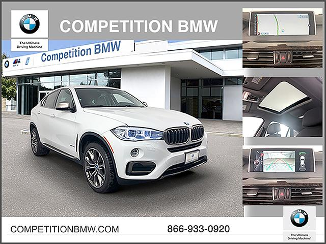 Certified Pre-Owned 2016 BMW X6 AWD 4dr xDrive35i