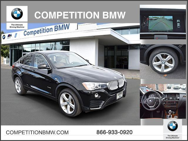 Certified Pre-Owned 2016 BMW X4 AWD 4dr xDrive35i