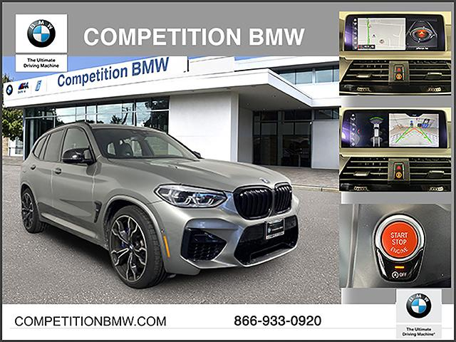 Pre-Owned 2020 BMW X3 M Competition Sports Activity Vehicle Competition