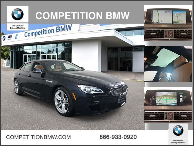 Certified Pre-Owned 2016 BMW 6 Series 4dr Sdn 650i xDrive AWD Gran Coupe