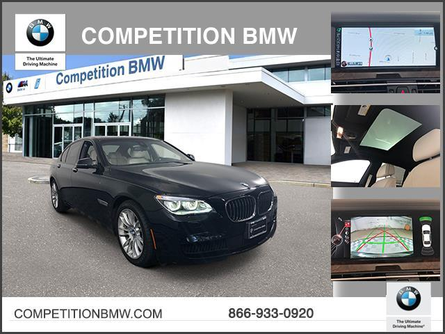 Pre-Owned 2015 BMW 7 Series 4dr Sdn 750i xDrive AWD