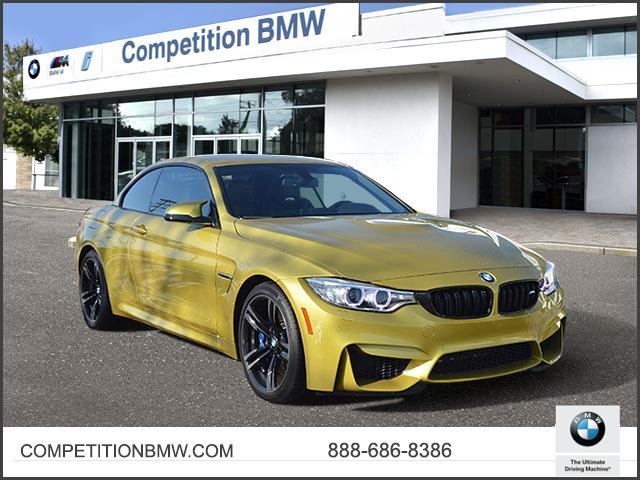 Certified Pre-Owned 2016 BMW M4 2dr Conv