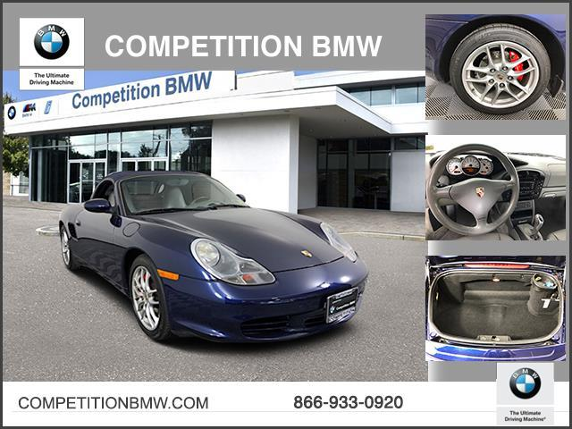 Pre-Owned 2004 Porsche Boxster 2dr Roadster S 6-Spd Manual