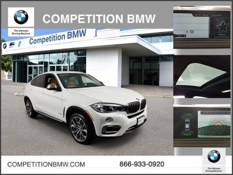 Certified Pre-Owned 2017 BMW X6 xDrive50i Sports Activity Coupe