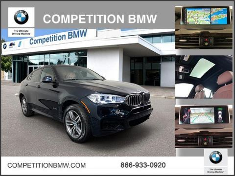 Pre-Owned 2016 BMW X6 AWD 4dr xDrive50i