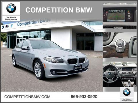 Certified Pre-Owned 2015 BMW 5 Series 4dr Sdn 528i xDrive AWD