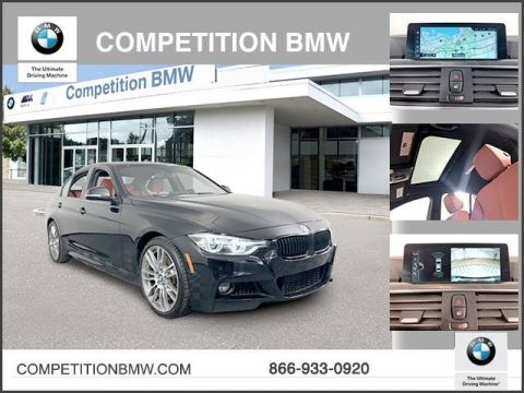 Certified Pre-Owned 2017 BMW 3 Series 340i xDrive Sedan
