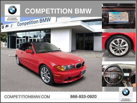 Pre-Owned 2004 BMW 3 Series 330Ci 2dr Convertible