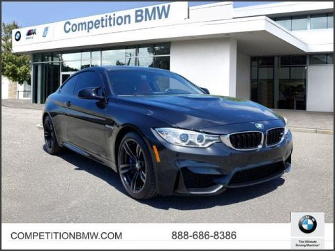 Certified Pre-Owned 2015 BMW M4 2dr Cpe